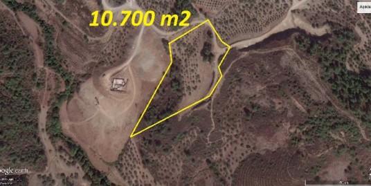 GÜLDEREN KÖYÜNDE MANZARALI 10.700 m2