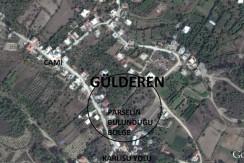 GÜLDEREN KÖYÜNDE 754 m² TARLA