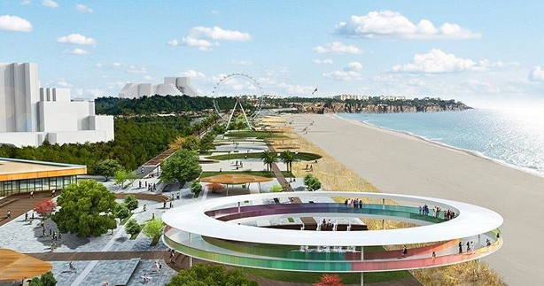 Antalya'nın milyar dolarlık projeleri görücüye çıktı
