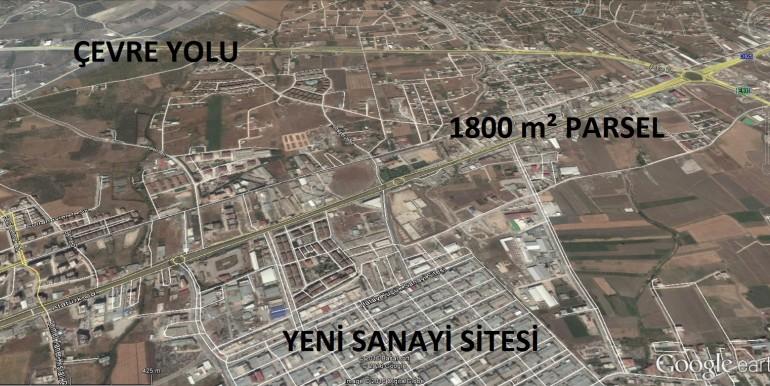 6. NOTER KARŞISI 1800 m² KEMAL AYDIN