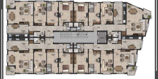 75.YIL BULVARI HATSU CİVARI TEMELDEN SATILIK 250 m2 DUBLEXLER
